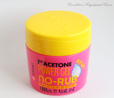 Nail- Aid No-Rub Power Gel Acetone Remover