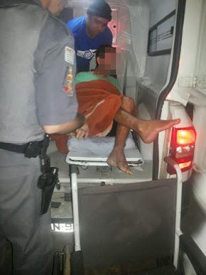POLÍCIA MILITAR RESGATA IDOSO VÍTIMA DE MAUS TRATOS E LOCALIZA CRIANÇA  VÍTIMA DE ABANDONO DE INCAPAZ