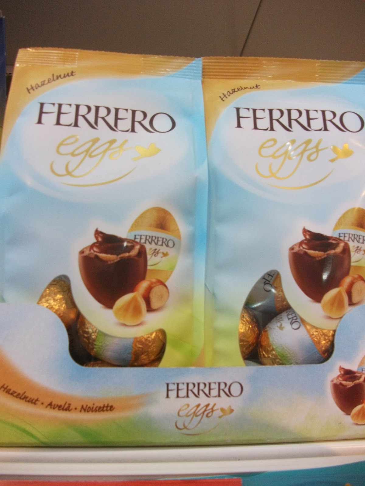 ferrero hazelnut mini eggs
