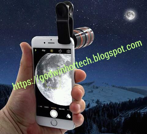CHECK THIS NEW MINI EXTRA-ORDINARY ZOOM CAMERA BUILT FOR SMARTPHONES.