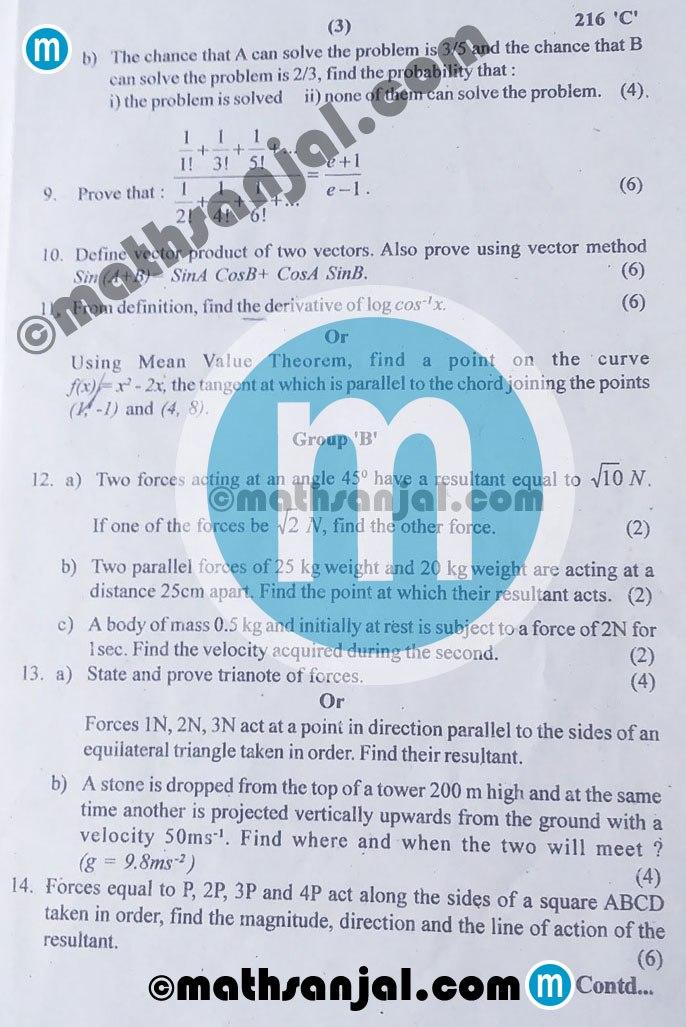Mathematics-Question-Paper-2076-2019-Grade-12-XII-code-216c-NEB