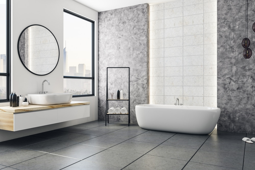 tiling the bathroom cost