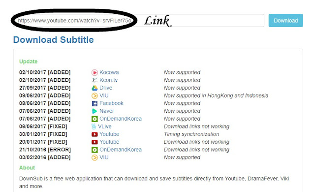 Download Closed Captions(Subtitle) File of Any YouTube Video