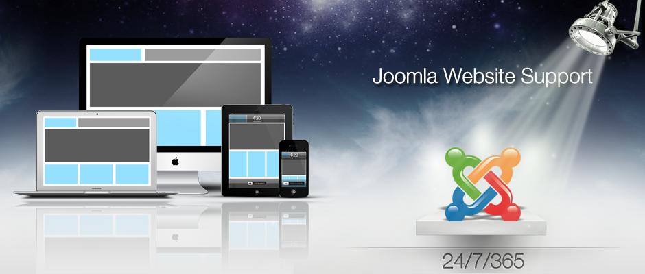 Joomla Website Support Services