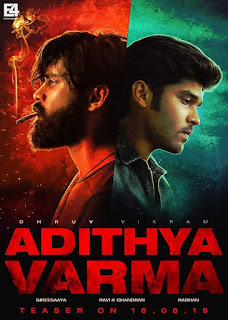 Adithya Varma (2019) Hindi Dubbed Full Movie Download 720p HDRip