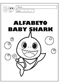 Desenhos Para Colorir Baby Shark Imprimir E Pintar Babyshark