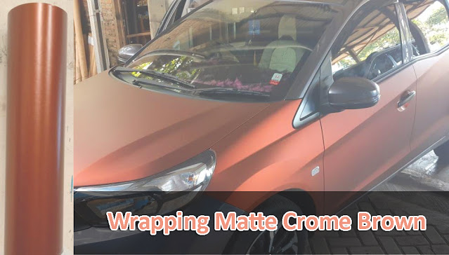 Jasa Wrapping Doff Brown