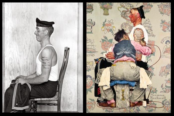 """Nornen Tattoo: """"Tweedland"""" The Gentlemen's Club: AMERICANA / Norman"""
