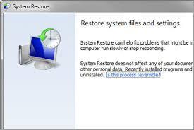 Langkah Mudah Melakukan System Restore