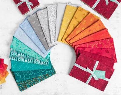Lily & Loom Red Sky fabrics