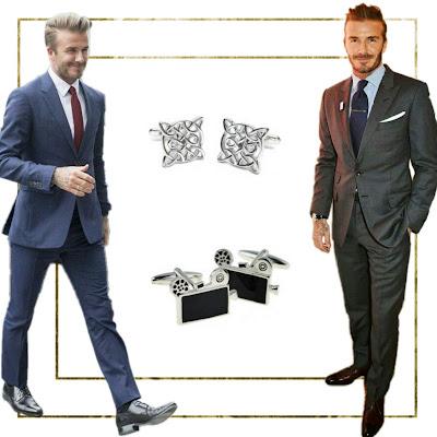 Accesorios para hombres: gemelos para la oficina