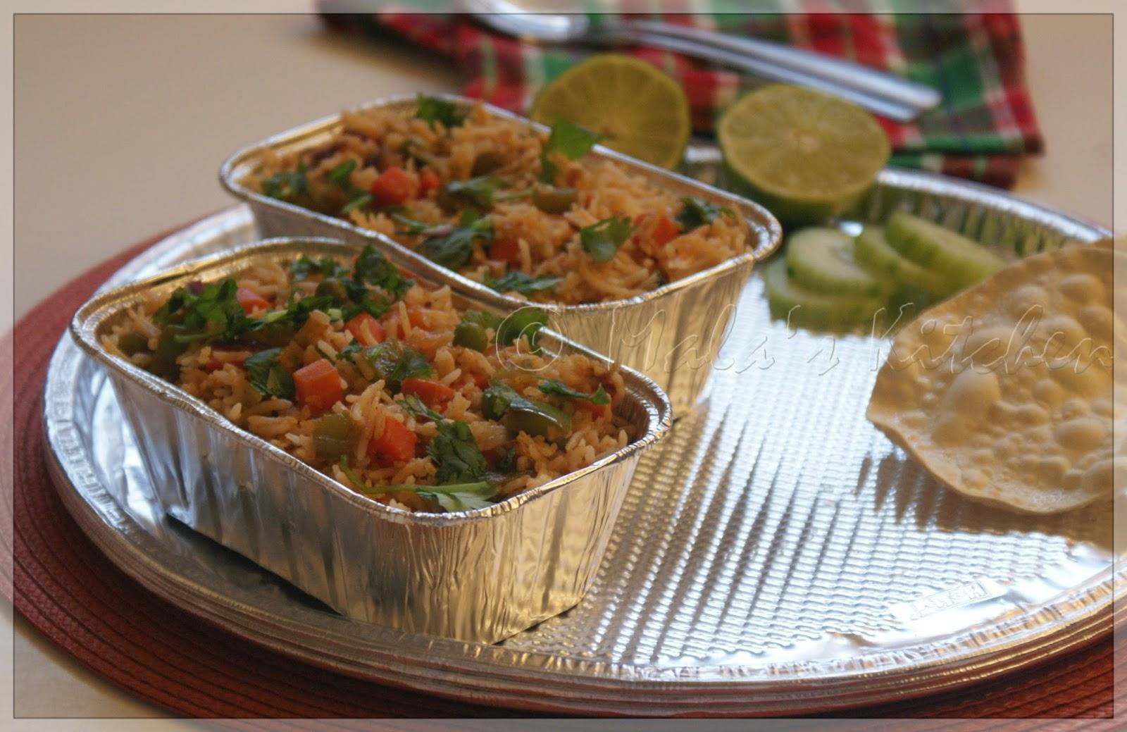 Coriander Rice Hebbar S Kitchen