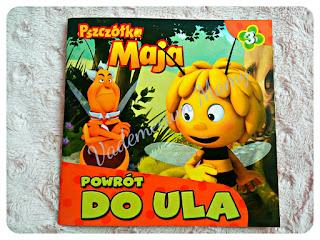Pszczółka Maja - Powrót do ula - Recenzja książeczki