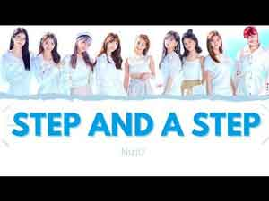 Step and a Step Niziu Lyrics English Translation
