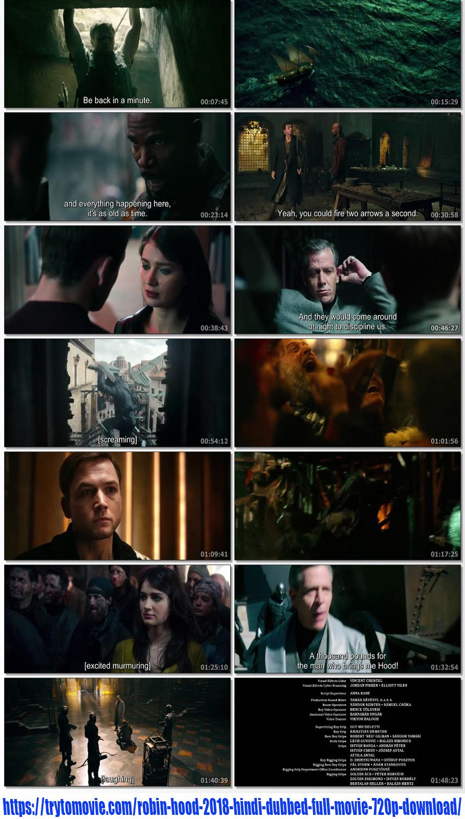 Robin Hood 2018 Hindi Dubbed Full Movie 720p Download