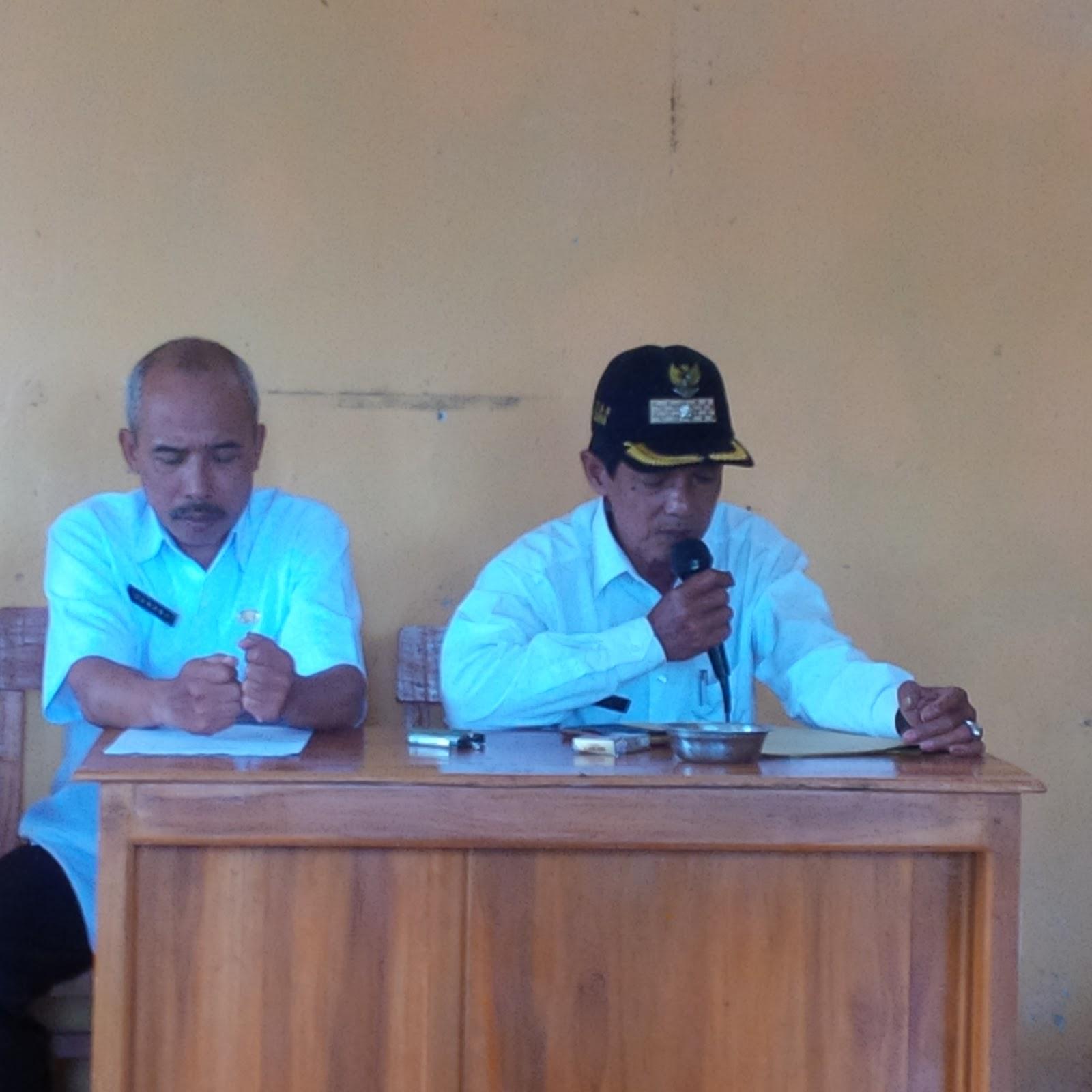 Serah Terima dan Uji Fungsi Program PAMSIMAS III Desa Watuduwur TA. 2017
