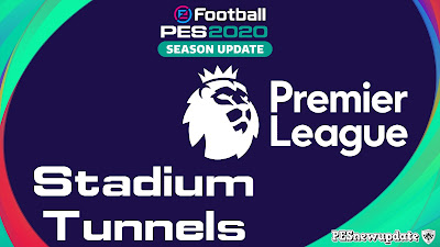 PES 2020 Premier League Stadium Tunnels by Luke Wharm