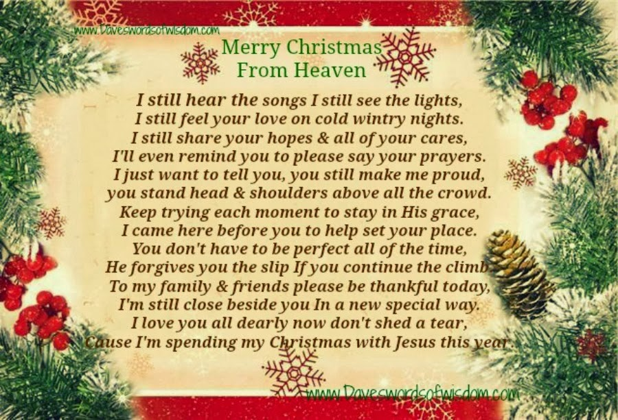 13 best photos of christmas gift ideas for mom and dad homemade merry christmas mom in heaven - Merry Christmas In Heaven Dad