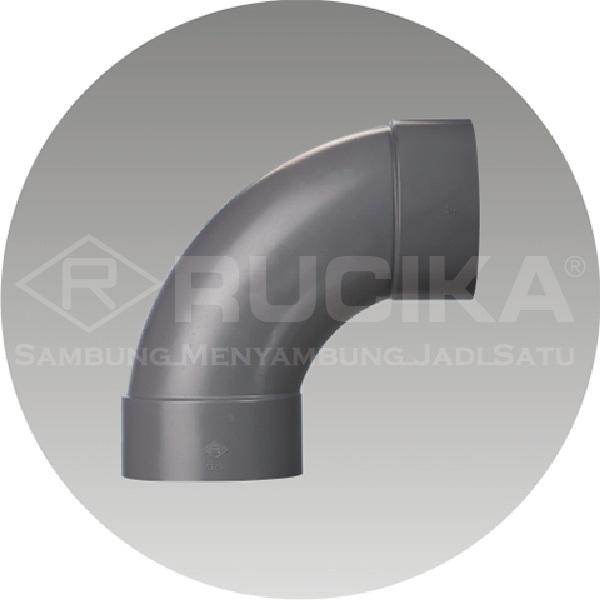 Elbow - pipa dan fitting sambungan untuk instalasi air kotor - Elbow Large Rucika