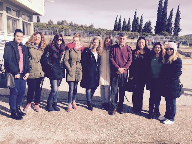 Εκπαιδευτική Επίσκεψη του Δ.ΙΕΚ Ναυπλίου στο Ειδικό Γυμνάσιο Αργολίδας