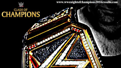 Clash of Champions 2016 Results