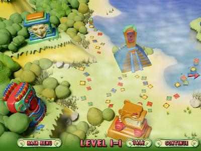瑪雅樂園(Mayawaka),神秘瑪雅古文明益智休閒遊戲!