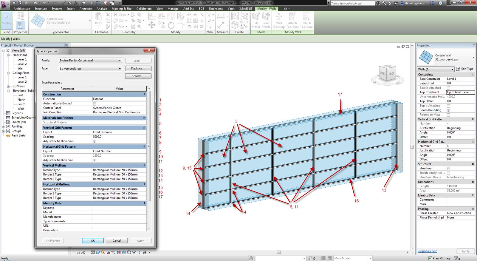Create angled curtain wall revit curtain menzilperde net for Curtain creator software