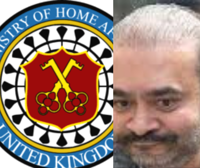 Breaking:The Home Ministry of UK conceded endorsement for removal of fugitive diamond merchant Nirav Modi