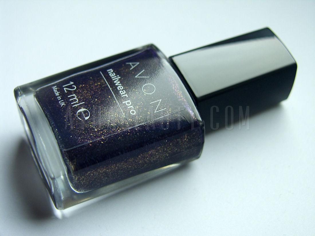 Avon, Nailwear Pro, Violetta Sparkle