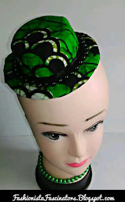 Green fascinators in Kenya