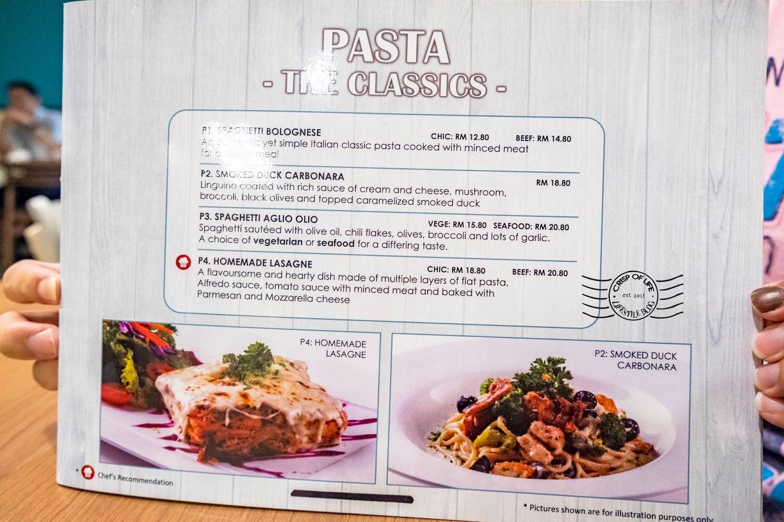 Olivia's Pasta & Pizza @ Batu Lanchang, Penang