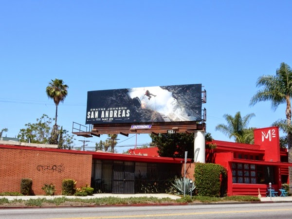 San Andreas billboard