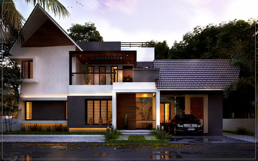 35 Lakh 2300 sq ft 4 Bedroom Kochi villa