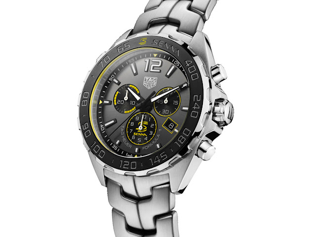 Ayrton Senna Formula 1 replica watches