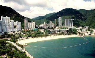 Hongkong Repulse Bay and Beach