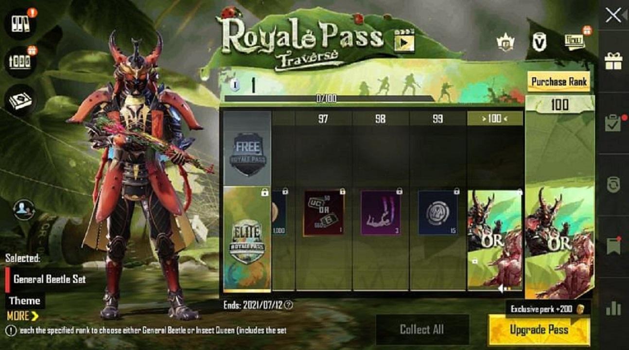 BPUBG Mobile Royale Pass for Season 19: Check Free Rewards Here