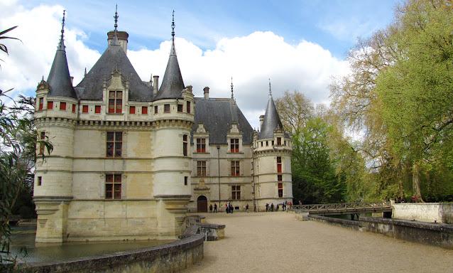 Castelul Azay-le-Rideau Valea Loarei Franta