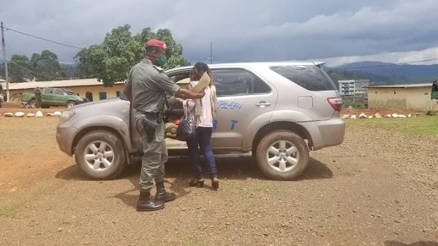 Bamenda: Legion commander returns stolen vehicle to owner