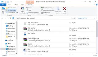Cara Mencari File di Explorer