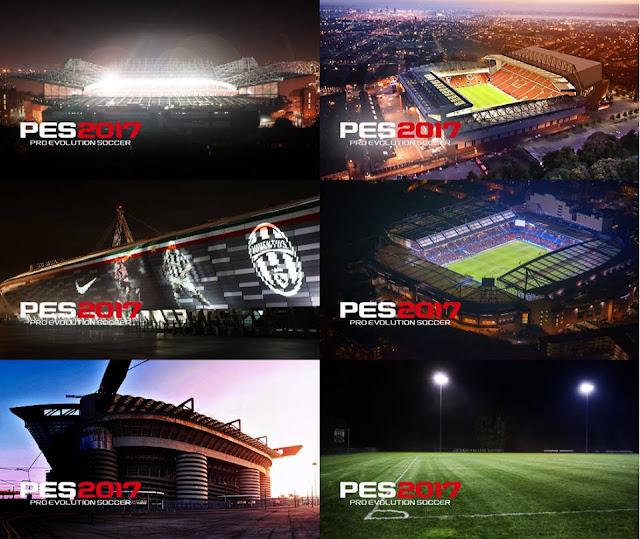 PES2017 Stadiums Startscreens V2 By Hamada Zaghloul
