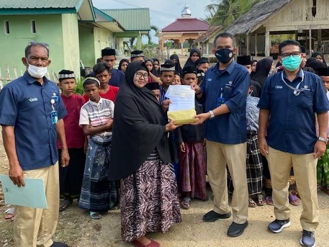 PT. PIM Serahkan Bantuan ke YPA. Raudhatul Jannah Seunuddon