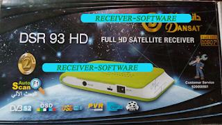 Dansat DSR 95 HD Receiver Original Dump File 2020 Version