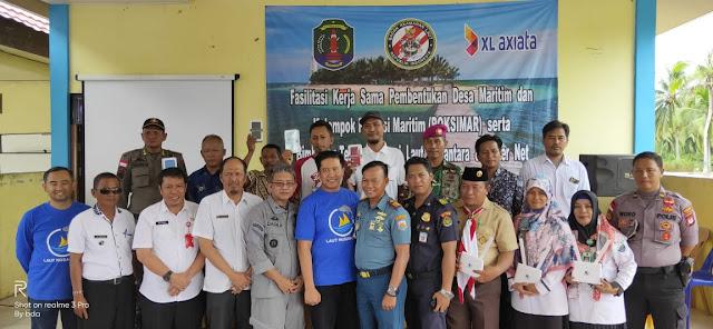 Balansiku, Desa Maritim Binaan Bakamla RI/IDNCG di Nunukan