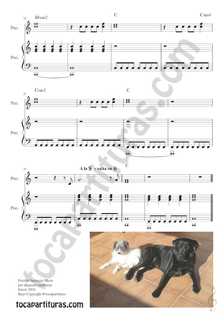 Partitura de Piano The Reason  Hoobastank Easy Piano Partitura de la Melodía y Acompañamiento Easy Piano Beginners The Reason for Pianists Music Score -  Hoja de Música - Partitura 3