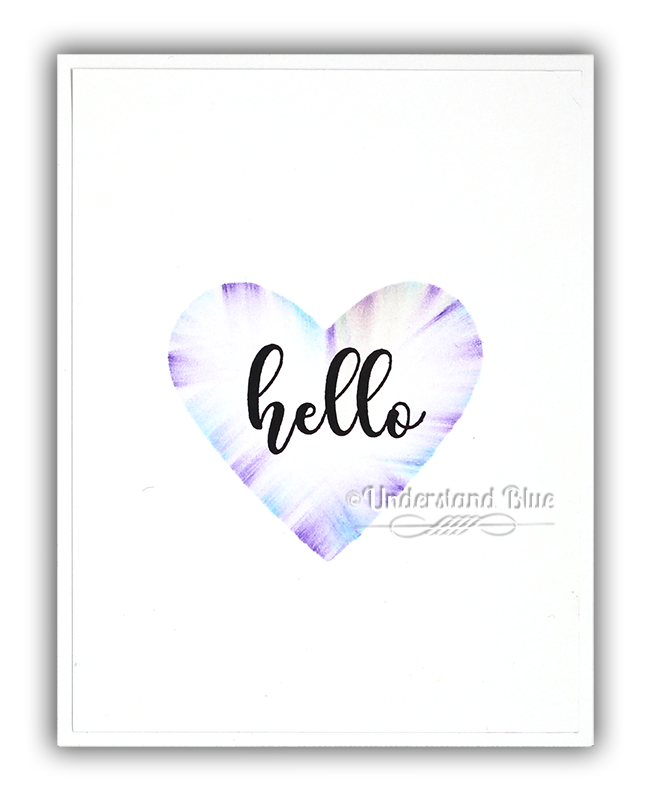 Oil Pastel heart by Understand Blue