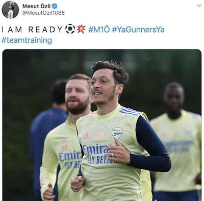 Dõng dạc nói 3 từ, Ozil 'tuyên chiến' với Arsenal và Arteta