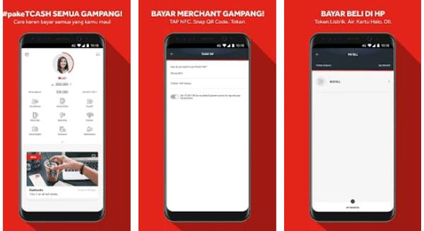 layanan aplikasi tcash wallet dari telkomsel