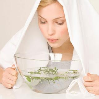 cách trị mụn an toàn hiệu quả từ xông hơi