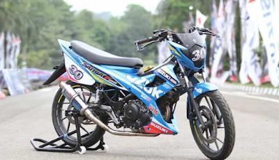 Modifikasi Road Race Satria Fu