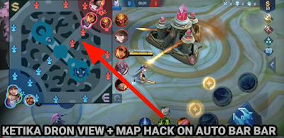 Script Radar Map Hack + Drone View ML 2021